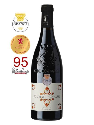 2016 法國紅酒 Domaine de Cabasse Jucunditas GIGONDAS (知名葡萄酒評鑑家 Robert Parker   95分)