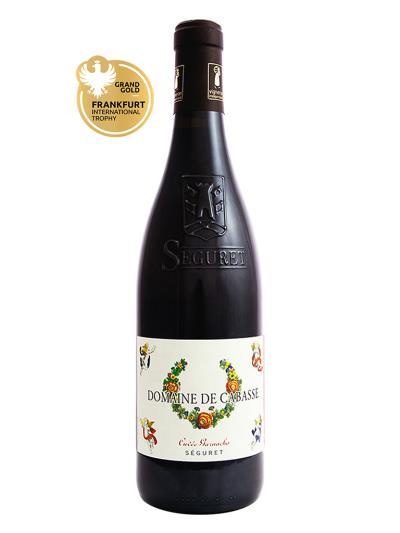 2015 法國紅酒 Domaine de Cabasse CUVEE GARNACHO (法蘭克福國際葡萄酒大獎賽 Frankfurt International Trophy  金牌)