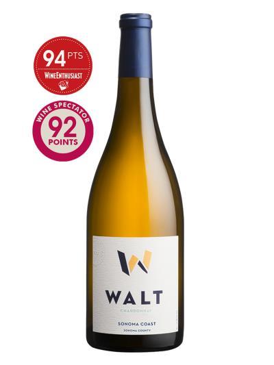 2015 美國白酒 WALT Sonoma Coast Chardonnay (Wine Enthusiast 葡萄酒愛好者雜誌 94分)
