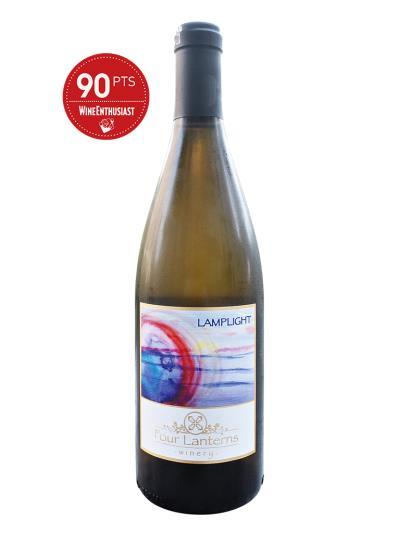 """2015 美國白酒   LAMPLIGHT (葡萄酒評鑑雜誌""""葡萄酒愛好者"""" Wine Enthusiast  90分)"""