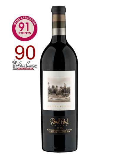 """2015 美國紅酒   Rutherford Cabernet Sauvignon (知名葡萄酒評論雜誌 """"葡萄酒觀察家""""Wine Spectator   91分 )"""