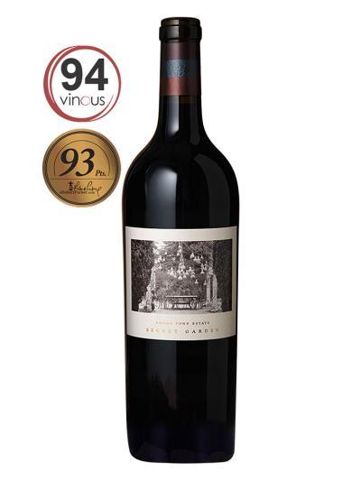 """2014 美國紅酒   SECRET GAEDEN Cabernet Sauvignon (知名葡萄酒評鑑專家""""Robert Parker""""93分)"""