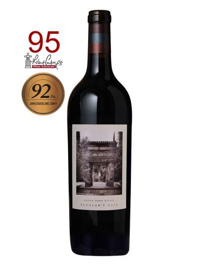"""2014 美國紅酒   Scholar`s Gate Cabernet Sauvignon (知名葡萄酒評鑑雜誌""""The Wine Advocate""""95分)"""