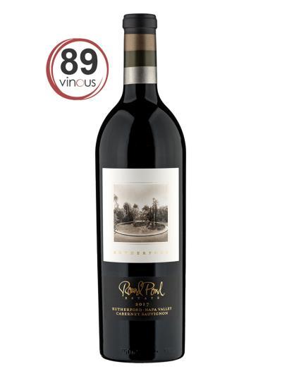 """2017 美國紅酒   Rutherford Cabernet Sauvignon (知名葡萄酒評論網站 """"葡萄酒誌""""Vinous 89分)"""