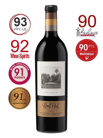 2015 美國紅酒   RESERVE Rutherford Cabernet Sauvignon (知名葡萄酒評論家 Robert Parker  90分)