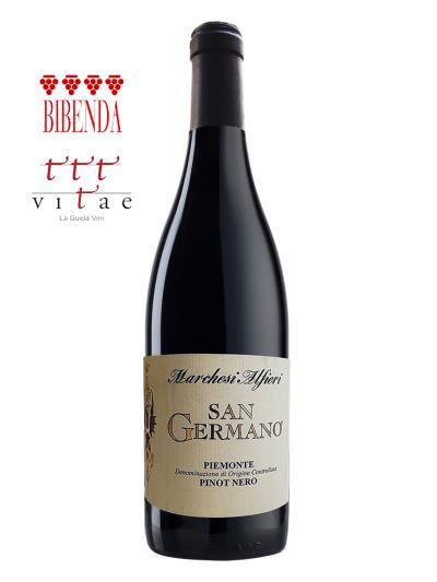 2015 義大利紅酒 SAN GERMANO  Piemonte Pinot Nero DOC (義大利知名酒評期刊 Vitae《葡萄酒指南》3葡萄藤)