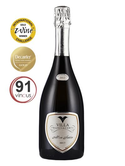 2013 義大利氣泡酒 MON SATEN BRUT Franciacorta Millesimato(品醇客世界葡萄酒大獎 Decanter World Wine Awards  95分)