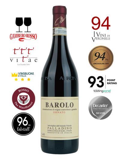 2014 義大利紅酒 BAROLO D.O.C.G. ORNATO (Vitae AIS 義大利侍酒師協會   Vitae AIS 3個葡萄藤)