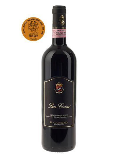 2016   義大利紅酒  SAN CIRINO  Chianti Colli Senesi D.O.C.G. (波爾多國際葡萄酒競賽   Challenge International du vin -   銅牌)