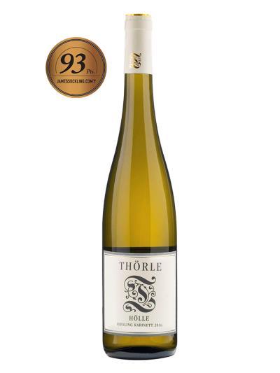 2016 德國白酒 HOLLE RIESLING KABINETT (知名葡萄酒評鑑家 James Suckling  93分)