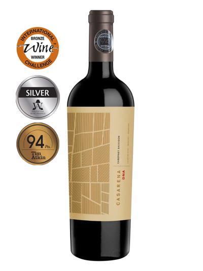 2016   阿根廷紅酒   CASARENA DNA CABERNET SAUVIGNON (阿根廷世界葡萄酒大賞  Wines of Argentina 銀牌 )