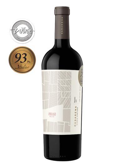 2015   阿根廷紅酒  CASARENA S.V. Jamilla´s Vineyard Malbec Perdriel  (國際葡萄酒競賽  International Wine Challenge    銀牌)