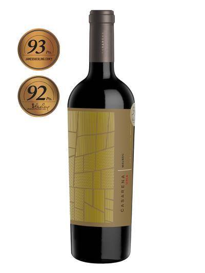 2013   阿根廷紅酒   CASARENA DNA MALBEC (知名葡萄酒評論家 James Suckling 93分)