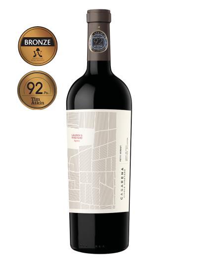 2017   阿根廷紅酒   CASARENA PETIT VERDOT Lauren´s Vineyard (阿根廷葡萄酒競賽  Wines of Argentina    銅牌)