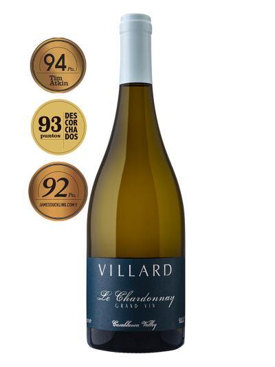 2015 智利白酒   Villard Grand Vin Le Chardonnay (英國葡萄酒大師 Tim Atkin 94分)