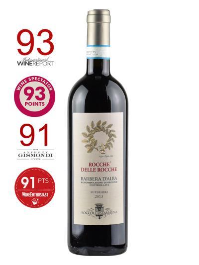 """2013 義大利紅酒    BARBERA D'ALBA """"SUPERIORE"""" D.O.C. (葡萄酒觀察家 Wine Spectator   Magazine  93分)"""