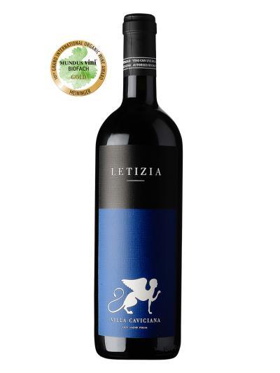 2012 義大利紅酒 LETIZIA Rosso Lazio IGT (葡萄酒學院有機酒  MUNDUS VINI BIOFACH  金賞)