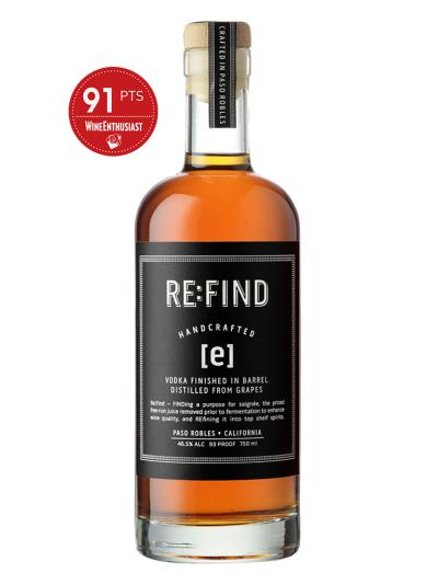 RE:FIND [e] VODKA FINISHED IN BARREL(Wine Enthusiast  91分)