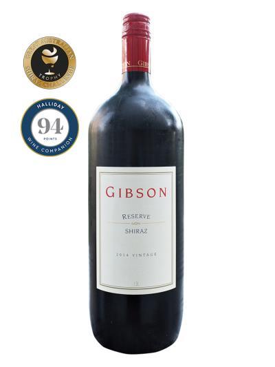 2014 澳洲紅酒 Gibson RESERVE SHIRAZ (1.5L) ( 澳洲Shiraz大賽 Australian Great Shiraz Challenge 銅牌 )