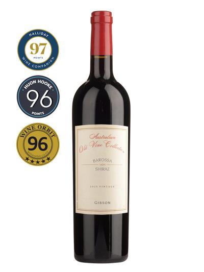 2015 澳洲紅酒 Australian Old Vine Collection BAROSSA SHIRAZ ( 澳洲知名葡萄酒評鑑家 James Halliday   97分 )