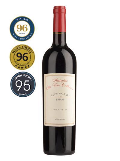 2016 澳洲紅酒 Australian Old Vine Collection EDEN VALLEY SHIRAZ ( 澳洲知名葡萄酒評鑑家 James Halliday   96分 )