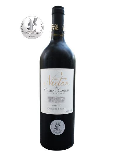 2015 法國紅酒   Nectar du Chateau Conilh Haute-Libarde Cotes de Bourg AOC (妃品麗大賽 Concours des Féminalises  de Beaune 銀牌)