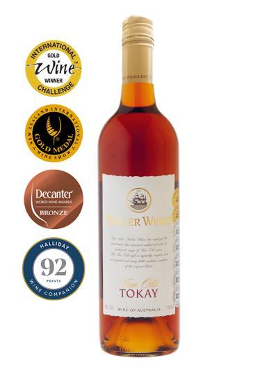 澳洲優質陳年加烈葡萄酒 FINE OLD Tokay (國際葡萄酒競賽 International Wine Challenge 金牌)