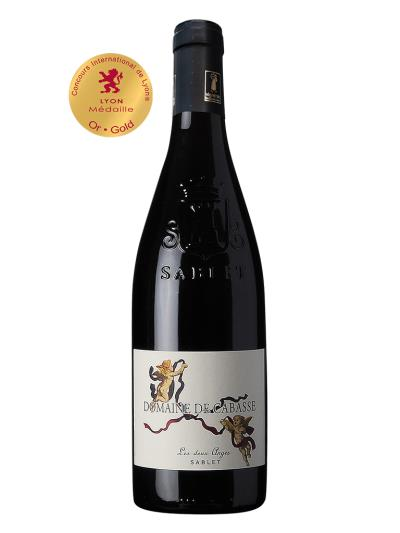 2019 法國紅酒 Domaine de Cabasse Cuvee Les DEUX ANGES (里昂國際葡萄酒挑戰賽  Concours international de lyon  金牌)