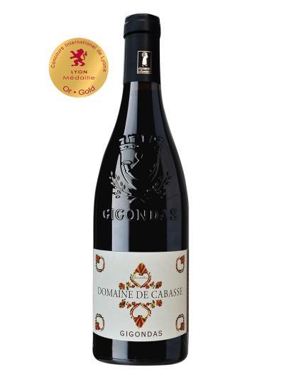 2018 法國紅酒 Domaine de Cabasse Cuvee Jucunditas GIGONDAS (里昂國際葡萄酒挑戰賽 Concours international de lyon  金牌)