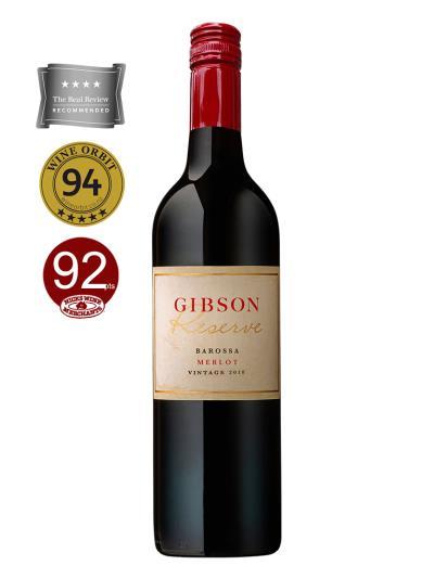 """2018 澳洲紅酒 Gibson Reserve Merlot (知名葡萄酒網站""""葡萄酒軌道""""Wine Orbit   94分)"""