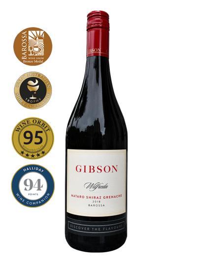 2018 澳洲紅酒 Gibson Wilfreda Mataro Shiraz Grenache (澳洲知名葡萄酒評鑑家 James Halliday   94分)