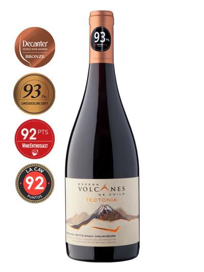 2018 智利紅酒 TECTONIA RED BLEND (美國知名葡萄酒評 James Suckling  93分)