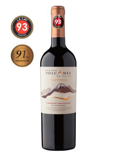 2018 智利紅酒 TECTONIA CABERNET SAUVIGNON (智利最大的紅酒俱樂部 La Cav  93分)