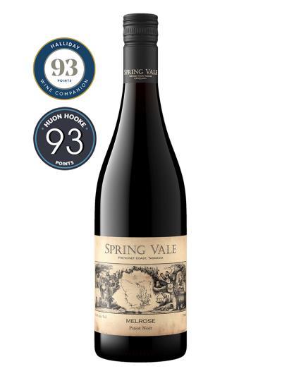 2020 澳洲紅酒 Spring Vale Melrose Pinot Noir (澳洲知名葡萄酒評鑑家 James Holliday  93分)