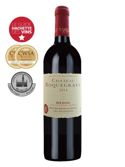 2014 法國紅酒   Château Roquegrave Medoc Cru Bourgeois (法國 樺榭葡萄酒指南 Le Guide Hachette des Vins  1星評價)