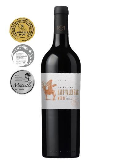 2018 法國紅酒   Château HAUT-VALEYRAC Medoc (馬貢葡萄酒大賞 Concours des grands vins de france a macon   金牌)