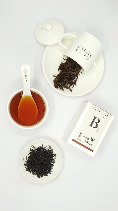 日月潭原生種山茶-紫芽山茶