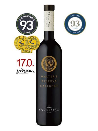 2013 澳洲紅酒 WALTER'S RESERVE CABERNET SAUVIGNON (澳洲知名葡萄酒評鑑家James Holliday  93分)
