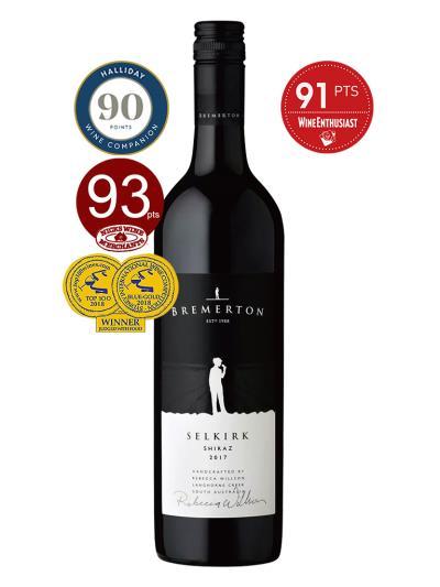 2017 澳洲紅酒 SELKIRK SHIRAZ (雪梨國際葡萄酒大賽 Sydney International Wine Competition  藍金牌優選)