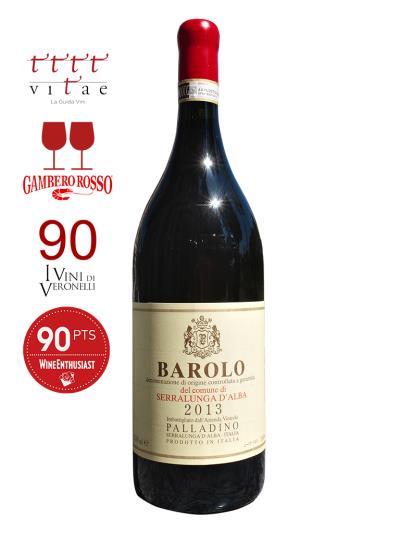 2013 義大利紅酒 BAROLO D.O.C.G. del Comune di Serralunga d'Alba (義大利侍酒師協會   Vitae AIS  4個葡萄藤)