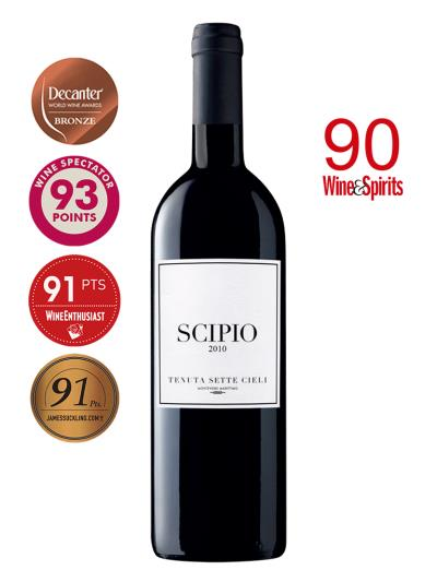 """2010 義大利紅酒    SCIPIOR Tenuta dei Sette Cieli IGT ( 知名酒評雜誌""""葡萄酒觀察家""""Wine Spectator  93分 )"""