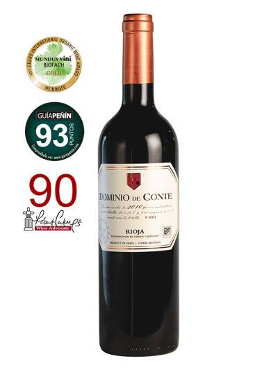 2010 西班牙紅葡萄酒 DOMINIO de CONTE Reserva (德國 世界葡萄酒大賽  MUNDUS VINI   金牌 )