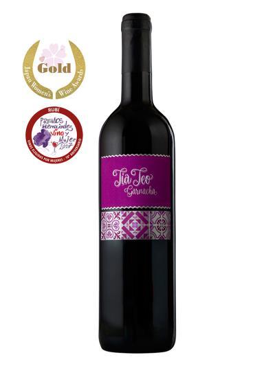 2014 西班牙紅葡萄酒 Tia Teo Garnacha (日本女性葡萄酒櫻花賞  SAKURA Japan Women's Wine Awards   金牌)