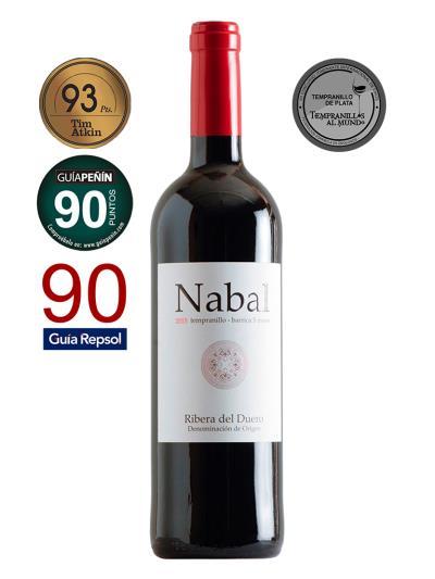 2015 西班牙紅葡萄酒 Nabal Ribera del Dureo(國際Tempranillo大賽  Tempranillos al Mundo  銀牌 )