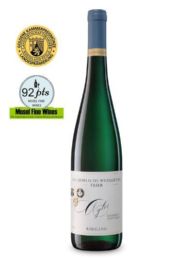 2016 德國白酒 AYLER RIESLING KABINETT TROCKEN (德國知名葡萄酒評鑑網站 Mosel Fine Wines  92分)