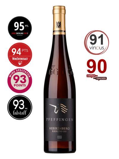 2016 德國白酒 HERRENBERG RIESLING GROBES GEWACHS (知名葡萄酒評論雜誌  Wine Enthusiast 94分)