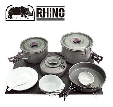 犀牛Rhino K-4 四人鋁合金套鍋