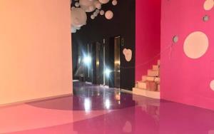 卡多泥合成樹脂地坪「多彩圓弧系列」|卡多泥創意地坪