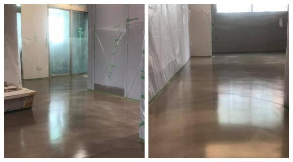 地坪施工前預先做好保護措施