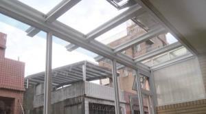 【採光罩】採光罩材質選擇-骨架篇 桃園展翔鋼鋁門窗